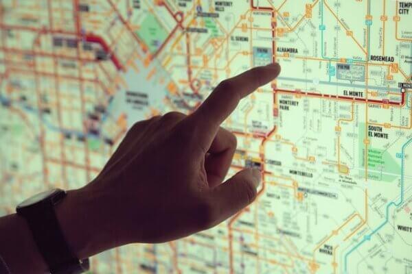 マップで店を探す